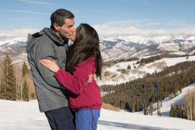 Skiing Proposal, Beaver Creek