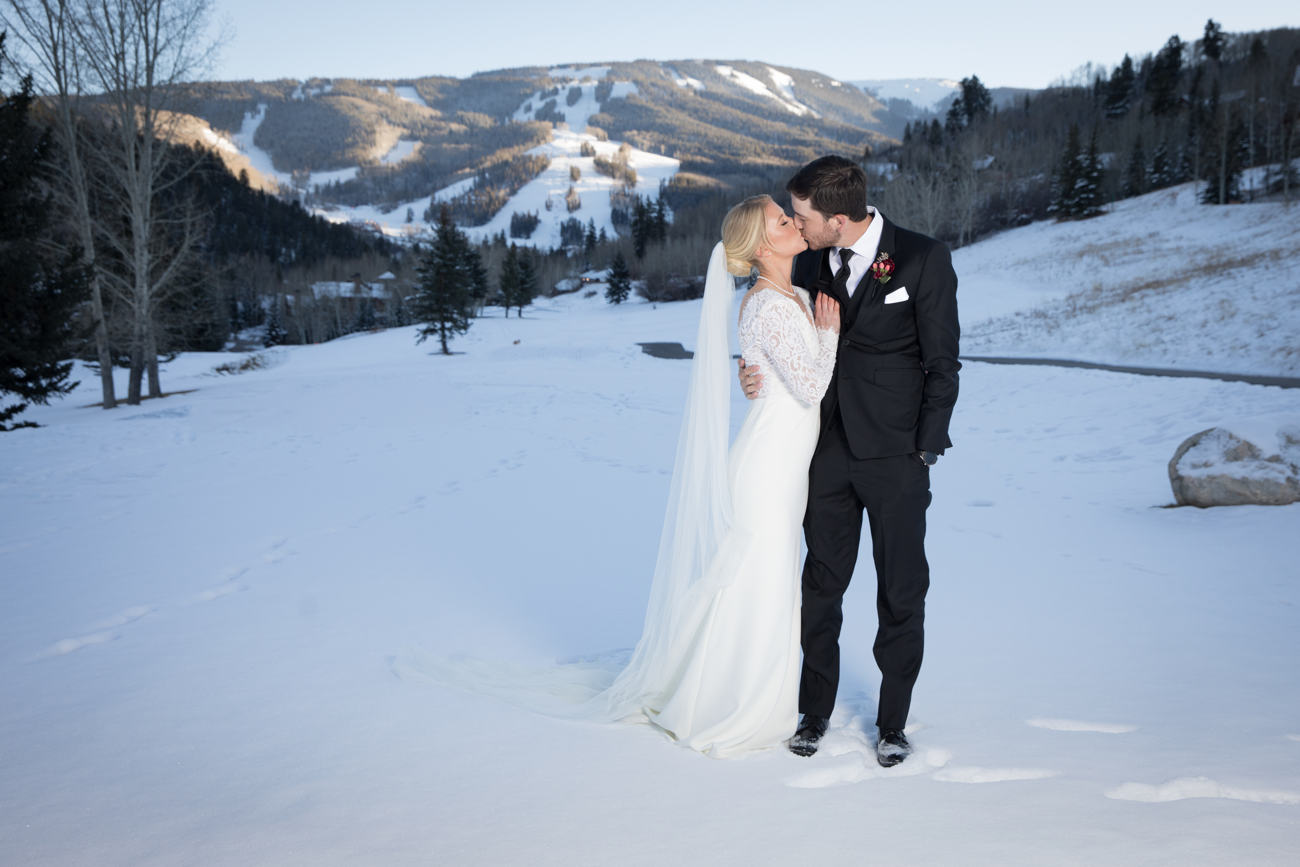 Jaci and Nick Ruhle's wedding in Beaver Creek with photographer Toni Axelrod - Toni Axelrod Studios