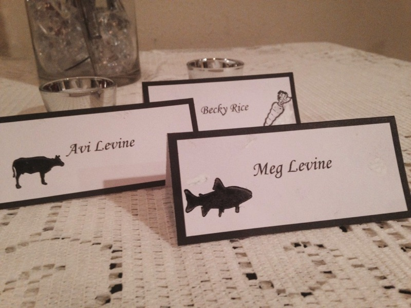 Most Wedding And Event Venues Require Place Cards To Be Provided If There Is More Than One Entree Choice