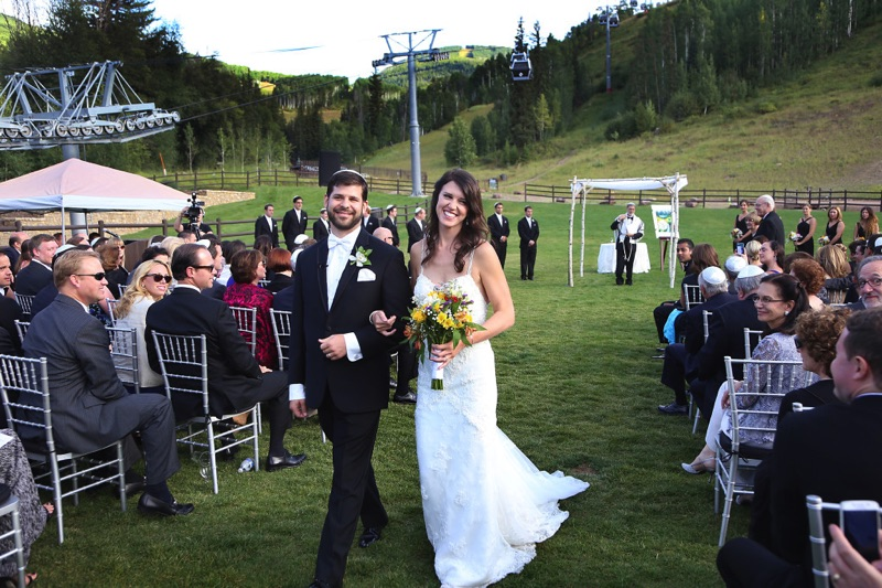 Meg and Avi Recessional